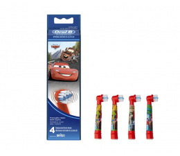 Końcówki do szczoteczek Oral-B EB10-4 Cars