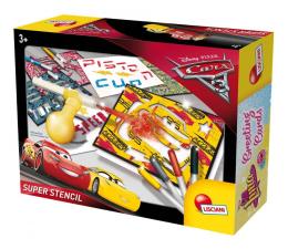 Zabawka plastyczna / kreatywna Lisciani Giochi Disney zestaw Auta 3 superstencil
