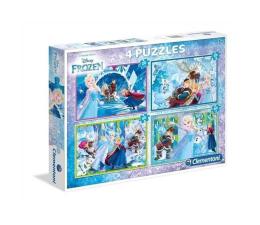 Puzzle dla dzieci Clementoni Puzzle Disney Frozen 2x20 + 2x60 el.