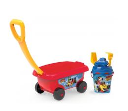 Zabawka do piaskownicy Smoby Disney Miki Wózek z akcesoriami do piasku