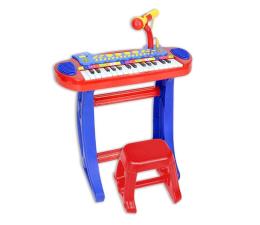 Zabawka muzyczna Bontempi STAR organy elektroniczne+mikrofon, statyw,stołek