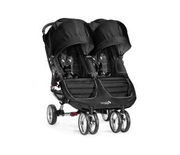 Wózek dla bliźniaków Baby Jogger City Mini Double Black/Gray