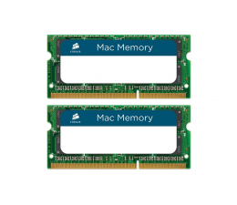 Pamięć RAM SODIMM DDR3 Corsair 16GB 1333MHz Mac Memory CL9 1.5V (2x8GB)