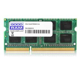 Pamięć RAM SODIMM DDR3 GOODRAM 8GB (1x8GB) 1600MHz CL11
