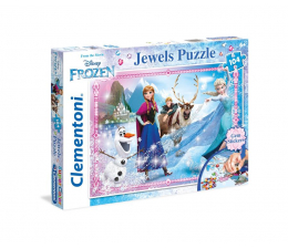 Puzzle dla dzieci Clementoni Puzzle Disney Frozen 104 el. z ozdobami