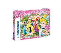Puzzle dla dzieci Clementoni Puzzle Disney Princess 104 el. z ozdobami