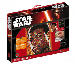 Zabawka plastyczna / kreatywna Quercetti Disney Mozaika Pixel Star Wars Finn 5800 el.