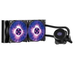 Chłodzenie procesora Cooler Master MasterLiquid ML240L RGB 2x120mm