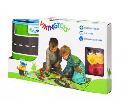 Zabawka dla małych dzieci Viking Toys Viking City mata  Z Pojazdami 3 EL.