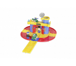 Zabawka dla małych dzieci Viking Toys Viking City Posterunek Policji z figurkami