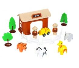 Zabawka dla małych dzieci Viking Toys Viking City farma z figurkami