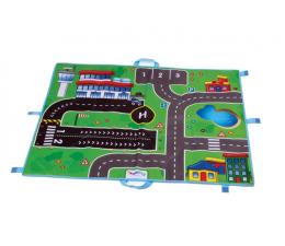 Zabawka dla małych dzieci Viking Toys Viking City mata lotnisko