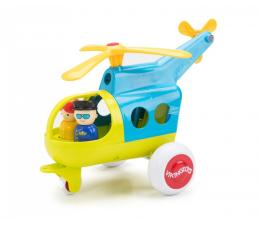 Zabawka dla małych dzieci Viking Toys Helikopter z figurką Jumbo Fun Colors
