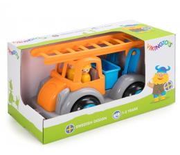 Zabawka dla małych dzieci Viking Toys Straż Pożarna z figurkami Jumbo Fun Colors GIFTBOX