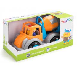 Zabawka dla małych dzieci Viking Toys Betoniarka z figurką Jumbo Fun Colors GIFTBOX