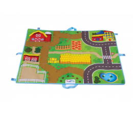 Zabawka dla małych dzieci Viking Toys Viking City mata farma