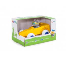 Zabawka dla małych dzieci Viking Toys Wesołe autka Myszka MAXI GIFTBOX