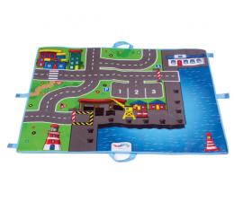 Zabawka dla małych dzieci Viking Toys Viking City Mata port