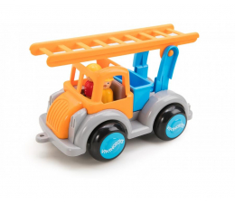 Zabawka dla małych dzieci Viking Toys Straż Pożarna z figurkami Jumbo Fun Colors