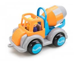 Zabawka dla małych dzieci Viking Toys Betoniarka z figurką Jumbo Fun colors