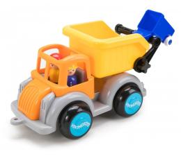 Zabawka dla małych dzieci Viking Toys Śmieciarka z figurką Jumbo Fun colors