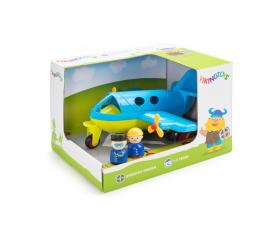Zabawka dla małych dzieci Viking Toys Samolot z figurkami Jumbo Fun Colors GIFTBOX