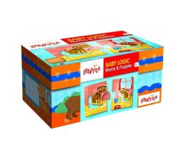 Gra dla małych dzieci Lisciani Giochi Ludattica Baby Logic Mamy i szczeniaczki