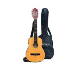 Zabawka muzyczna Bontempi PLAY Gitara drewniana 75 CM z paskiem i futerałem