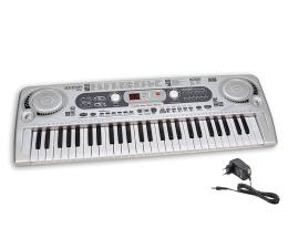 Zabawka muzyczna Bontempi PLAY organy elektroniczne 54 klawisze+akces.