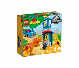 Klocki LEGO® LEGO Duplo Wieża tyranozaura