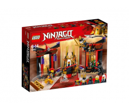 Klocki LEGO® LEGO NINJAGO Starcie w sali tronowej