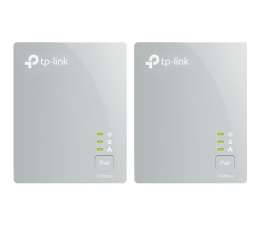 Adapter HomePlug (PLC) TP-Link TL-PA4010 KIT PowerLine 600Mb/s (2 sztuki)