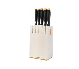 Akcesoria do kuchni Fiskars Functional Form Zestaw 5 noży w bloku 1014209