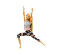 Lalka i akcesoria Barbie Made To Move Kwiecista Lalka Blondynka