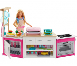 Lalka i akcesoria Barbie Idealna Kuchnia
