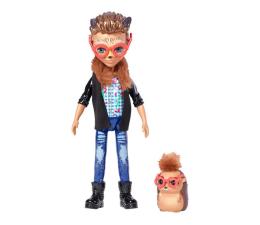 Lalka i akcesoria Mattel Enchantimals Lalka Zwierzątkiem Hixby i jeżyk
