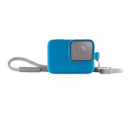 Etui na kamerę GoPro Etui + Smycz niebieskie