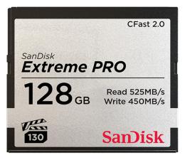 Karta pamięci CFast SanDisk 128GB Extreme PRO CFAST 2.0 525MB/s VPG130