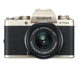 Bezlusterkowiec Fujifilm X-T100 + XC 15-45mm f/3.5-5.6 OIS PZ złoty