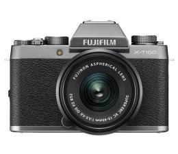 Bezlusterkowiec Fujifilm X-T100 + XC 15-45mm f/3.5-5.6 OIS PZ srebrny
