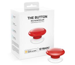 Przycisk/pilot Fibaro The Button kontroler scen czerwony (HomeKit)