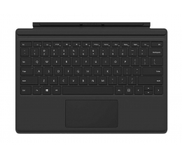 Klawiatura do tabletu Microsoft Klawiatura Type Cover do Surface Pro Czarna