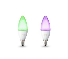 Inteligentna żarówka Philips Lighting White and Colour Ambiance (2szt. E14)