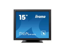 """Monitor LED 21"""" i mniejszy iiyama T1531SR-B5 dotykowy czarny"""