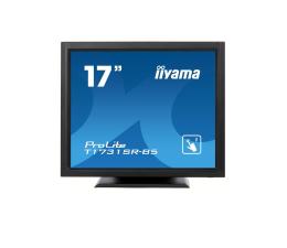 """Monitor LED 21"""" i mniejszy iiyama T1731SR-B5 dotykowy czarny"""