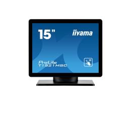 """Monitor LED 21"""" i mniejszy iiyama T1521MSC-B1 dotykowy"""