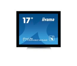 """Monitor LED 21"""" i mniejszy iiyama T1732MSC-W5AG dotykowy biały"""