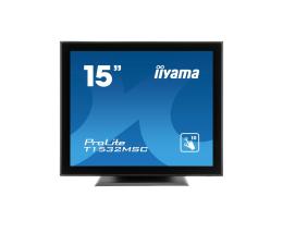 """Monitor LED 21"""" i mniejszy iiyama T1532MSC-B5X dotykowy"""