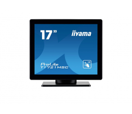 """Monitor LED 21"""" i mniejszy iiyama T1721MSC-B1 dotykowy"""