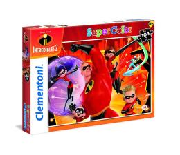 Puzzle dla dzieci Clementoni Puzzle Super Kolor Incredibles 2 104 el.